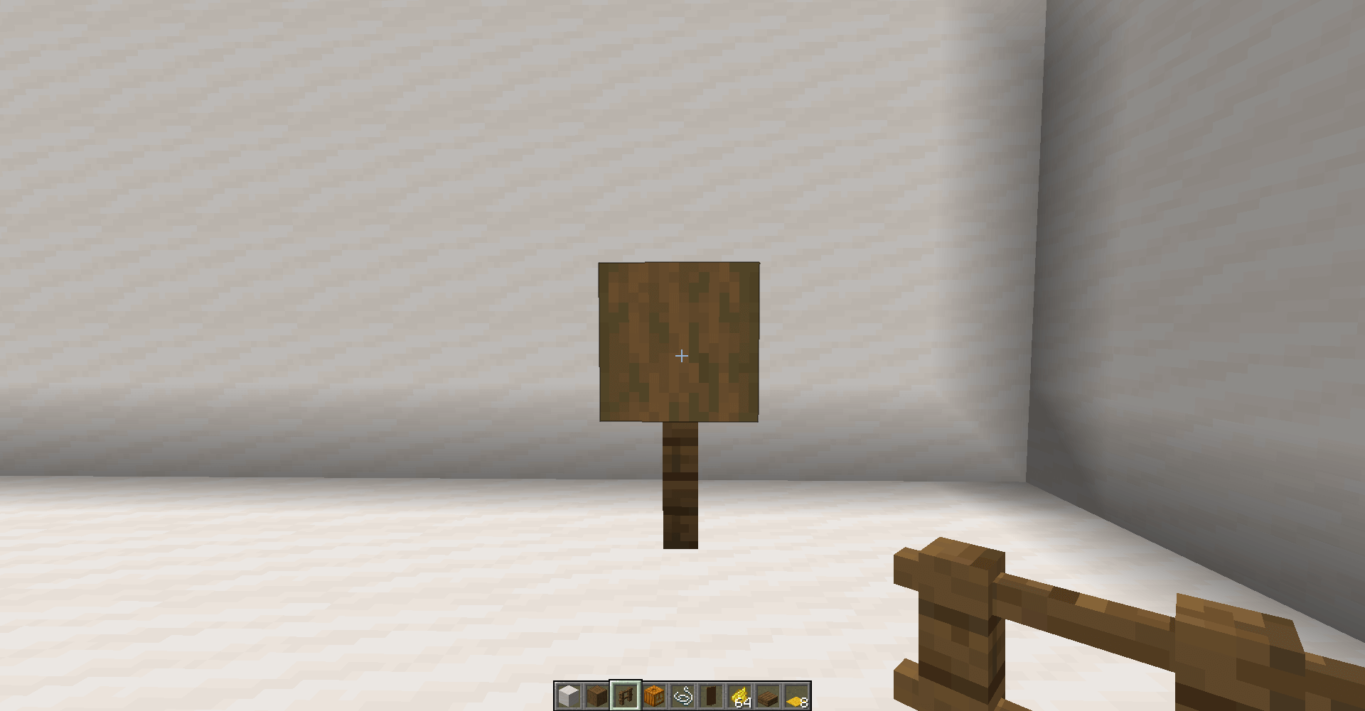 Scarecrow With Banners Step By Step Tutorial Minecraft Designs