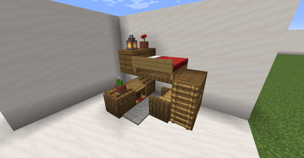 Bedroom Archives Minecraft Designs